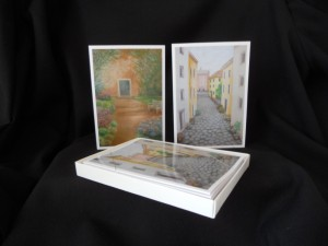 Box of 2 Italian Scenes Cards