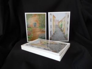 Box of 2 Italian Scenes Cards