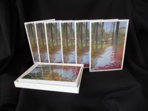 Box of Autumn Cards