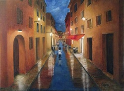 After the Rain oil painting on canvas